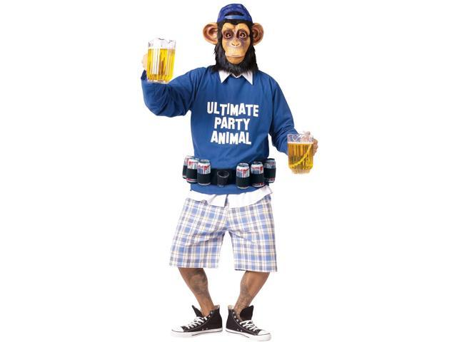 Ultimate Party Animal Costume Adult Plus Size
