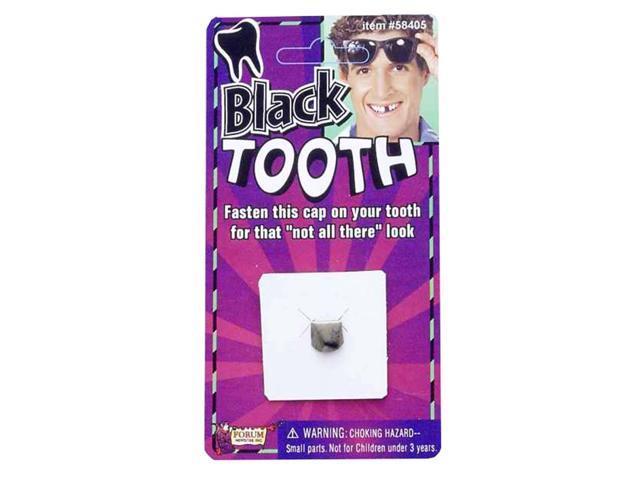 Black Tooth Cap Costume Accessory