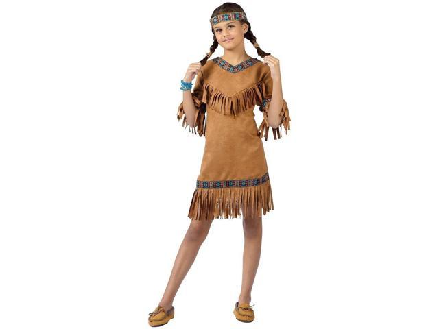 Native American Girl Costume Child Large