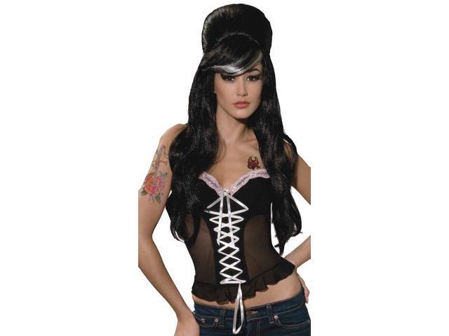 Betty Blues Black Costume Wig