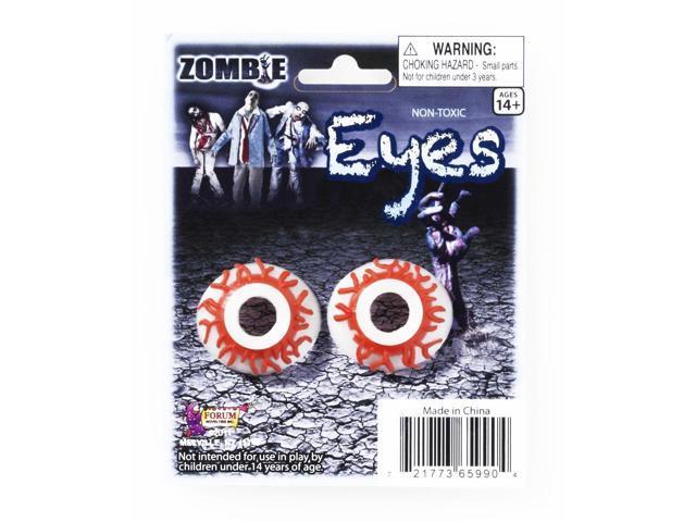 Zombie Eyes Costume Eyewear Accessory