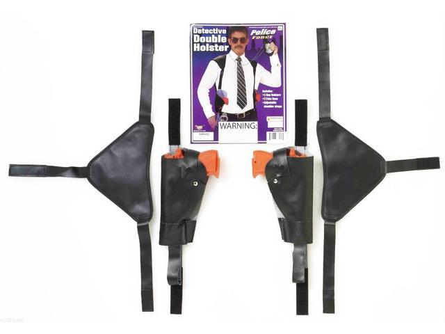 Double Gun Detective Style Adult Costume Shoulder Holster One Size