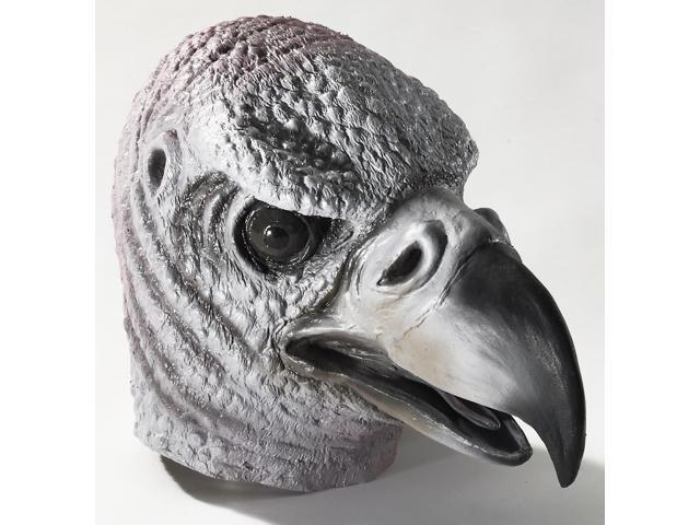 Deluxe Latex Animal Mask Adult: Vulture One Size