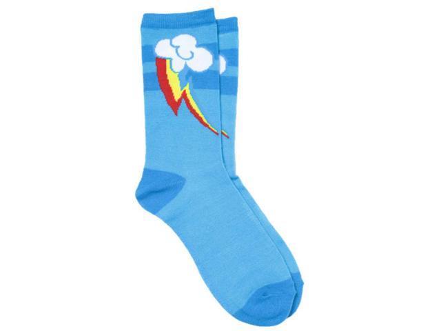 My Little Pony Rainbow Cuitie Mark Socks