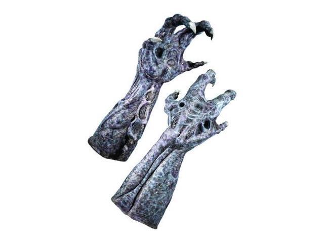 Alien Deluxe Latex Hands - Adult