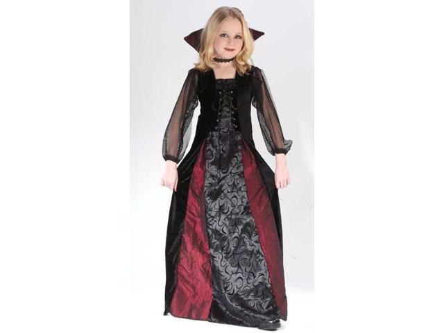Gothic Maiden Vamp Costume Child Large