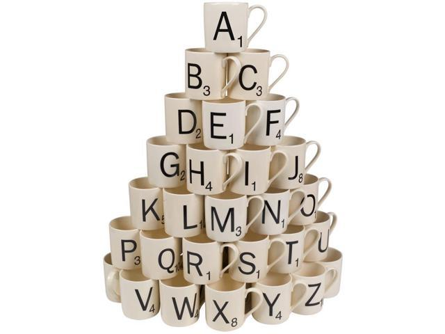 Scrabble Coffee Mug - Choose Your Letters Letter Y