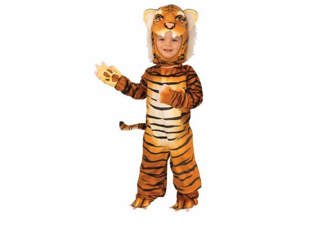 Plush Tiger Toddler / Child Costume 2T-4T
