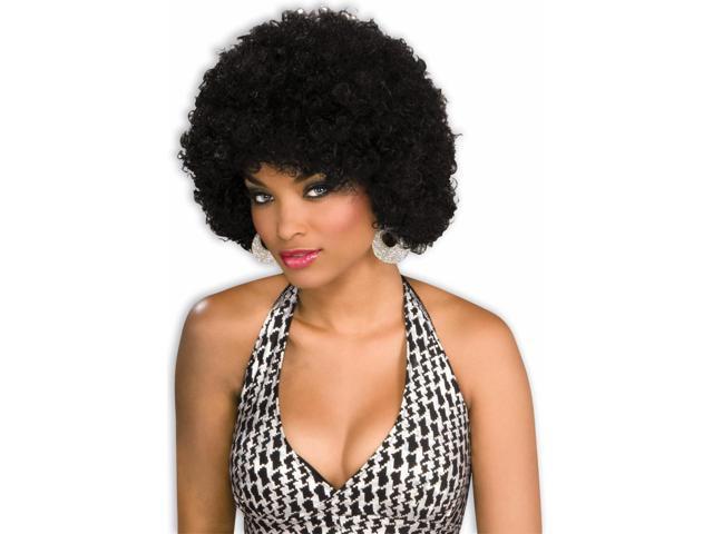 Afro Black Adult Costume Wig