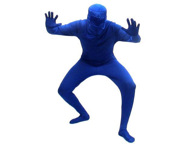 Blueman Bodysuit Costume Adult X-Large