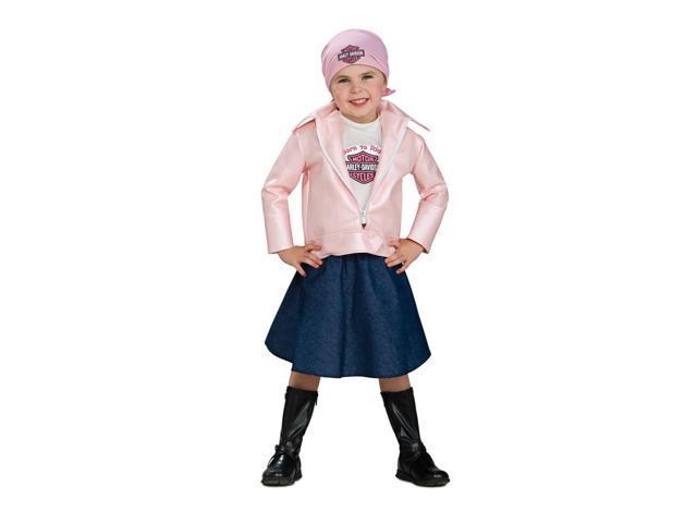 Harley Davidson Girl Baby Costume 6-12 Months