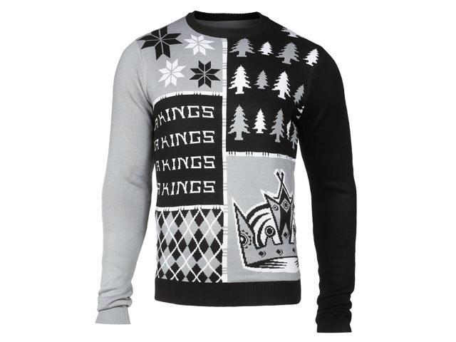 Los Angeles Kings NHL Busy Block Ugly Sweater XX-Large