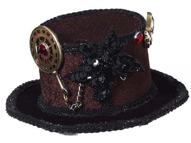 Steampunk Mini Costume Top Hat One Size