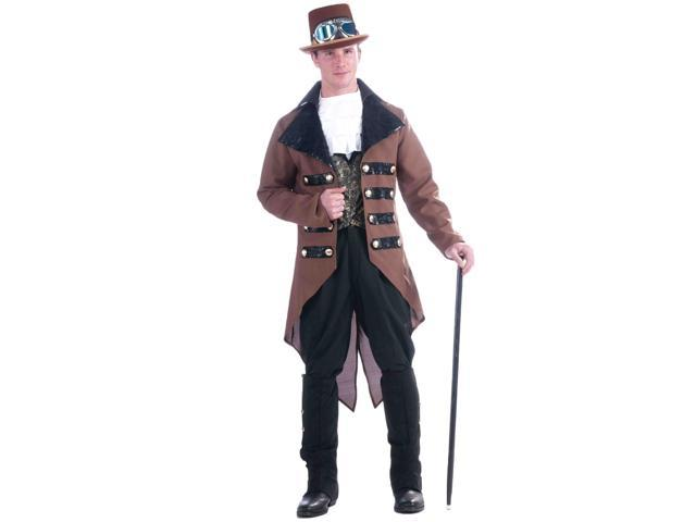 Victorian Steampunk Adult Male Costume One Size Fits Most