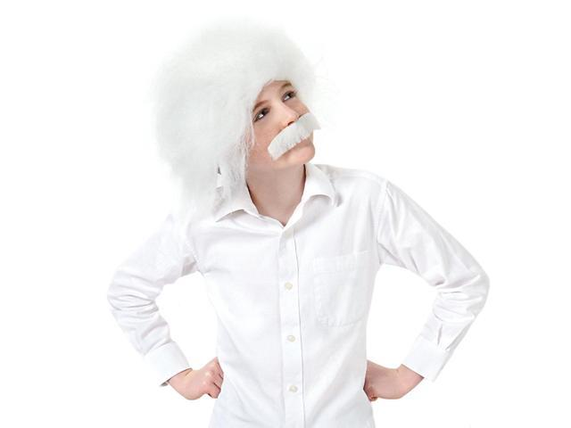 Einstein Costume Wig & Moustache