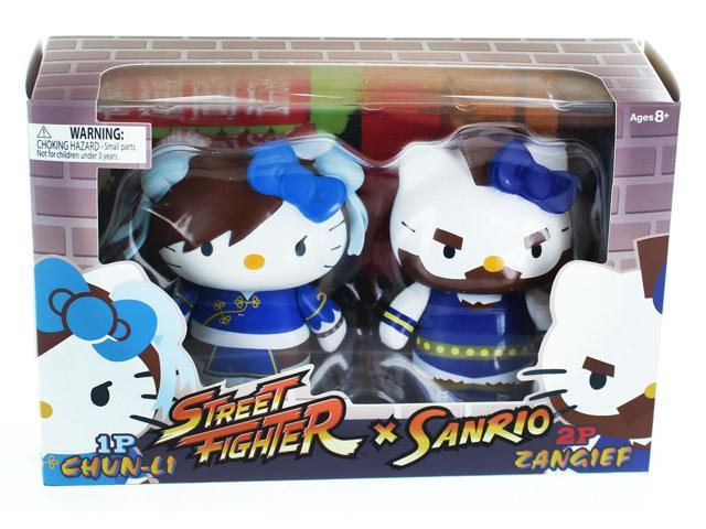 Hello Kitty Street Fighter 2 Figure Pack ChunLi & Zangief