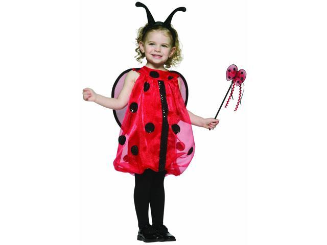 Ladybug Costume Child Standard 7-10