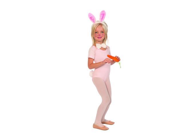 Plush Bunny Costume Kit Child One Size
