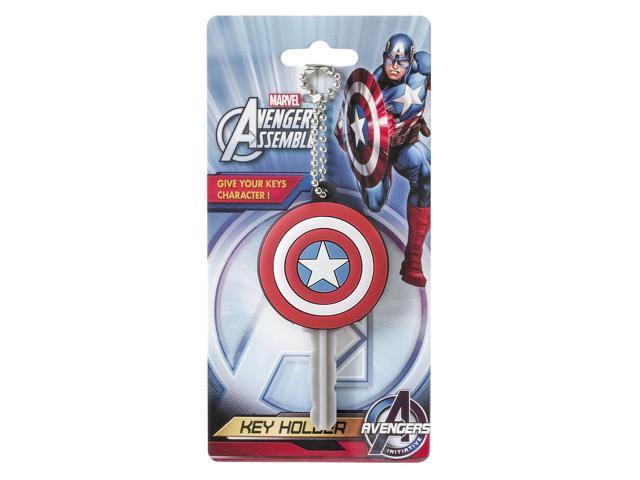 Marvel Soft Touch PVC Key Cap Captain America Shield