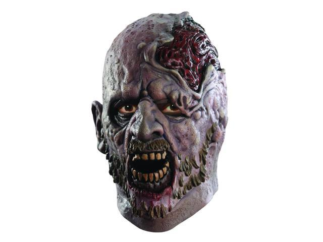 The Walking Dead Screaming Corpse Deluxe Adult Latex Costume Mask