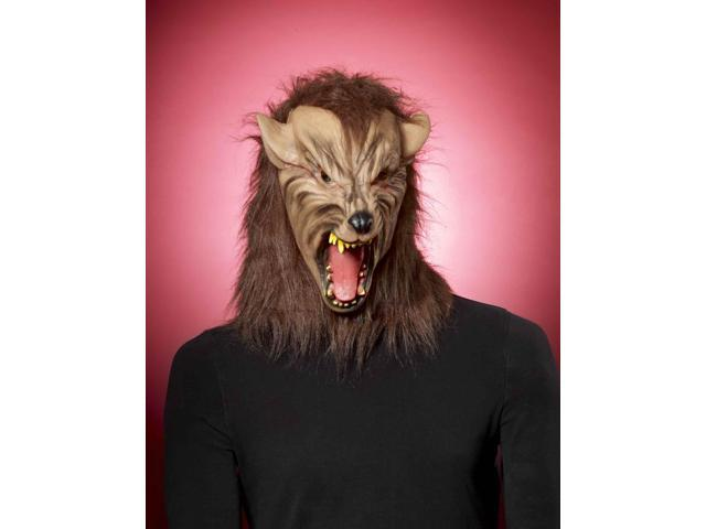 Adult Brown Werewolf Costume Mask