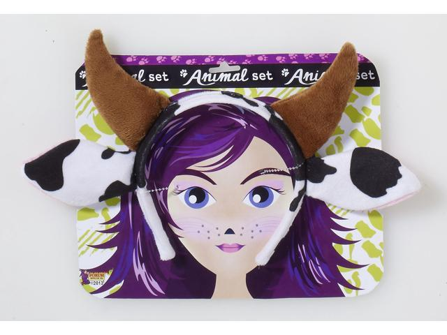 Cow Costume Headband One Size