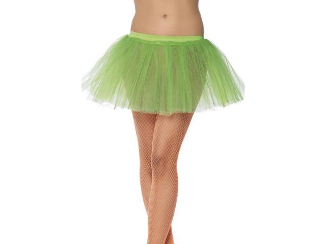 Tutu Neon Green Adult Costume Underskirt One Size