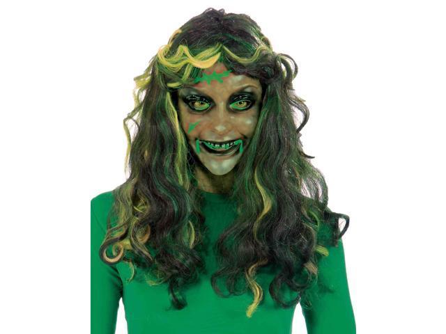 Biohazard Transparent Mask Adult Female Costume Accessory One Size