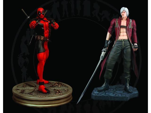 Hollywood Collectibles 1:4 Scale Dante Vs Deadpool Statues