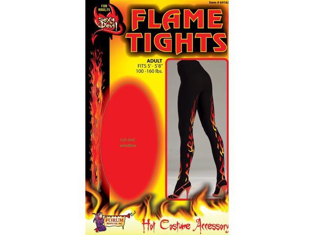 Sexy Devil Flame Costume Tights