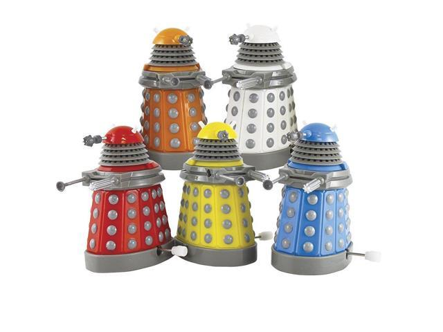 Doctor Who Dalek Wind Up Toys 5-Pack Collector Set