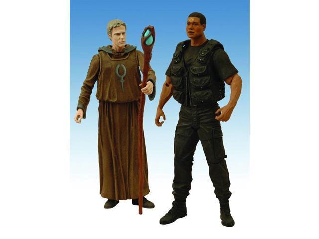 Stargate Sg1 Season 10 Daniel & Tealc Figure 2 Pack