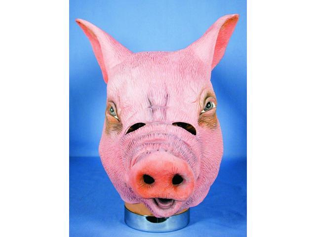 Pig Adult Costume Mask