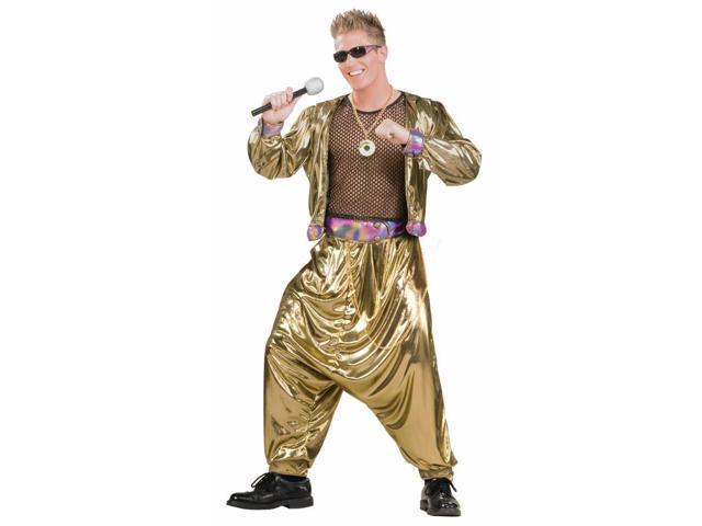 80's Video Super Star Male Adult Costume Standard