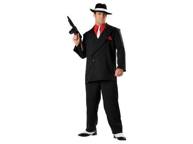 20'S Gangster Mobster Pin Striped Suit Designer Costume Adult X-Large