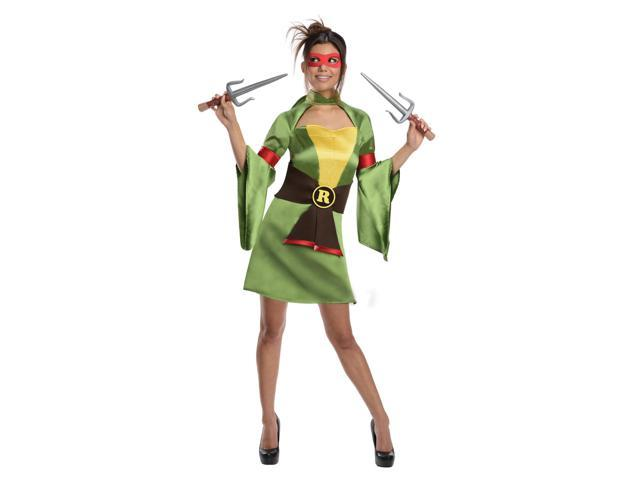 T.M.N.T. Sexy Raphael Kimono Costume Adult Large