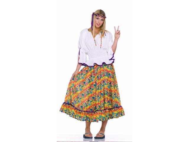 Woodstock Girl Adult Costume Standard