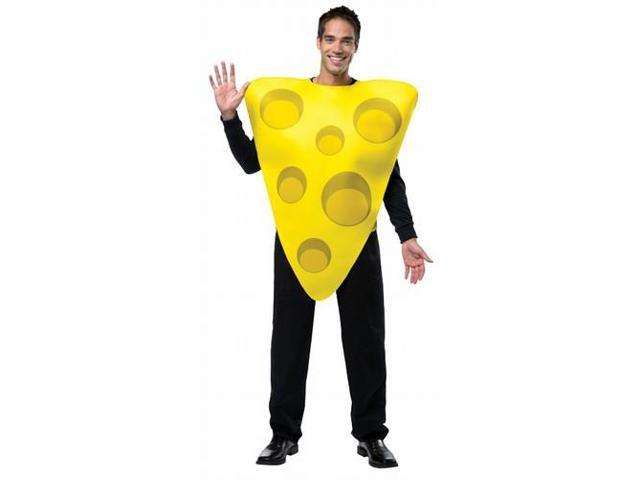 Cheese Adult Costume One Size Fits Most