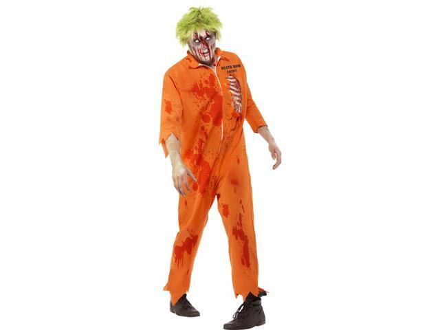 Zombie Death Row Inmate Adult Costume Large