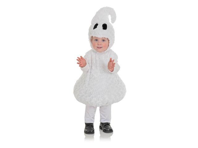 Belly Babies Ghost Costume Child Toddler M 18-24 Months