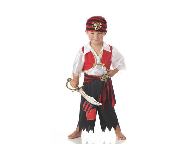 Ahoy Matey Pirate Costume Child Toddler Large