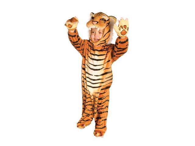 Brown Plush Tiger Costume Child Infant 4T-6T