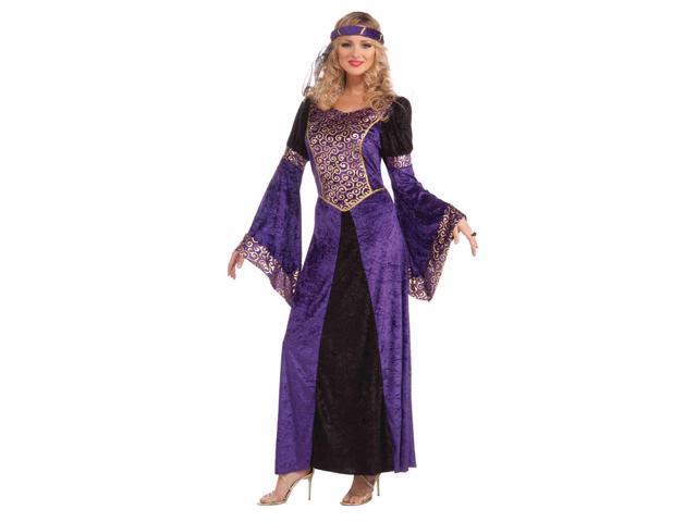 Medieval Maiden Adult Female Costume One Size Fits Most