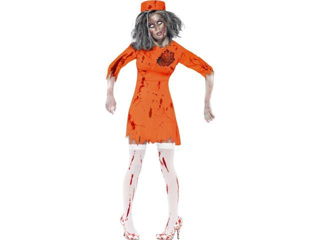 Zombie Death Row Diva Adult Costume Small
