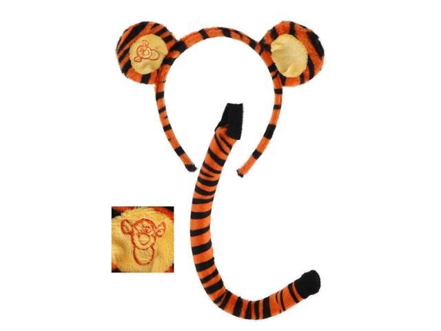 Winnie The Pooh Tigger Ears & Tail Costume Accessory Set One Size