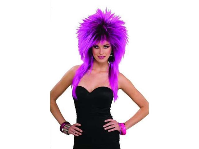 Purple Pizazz Costume Wig
