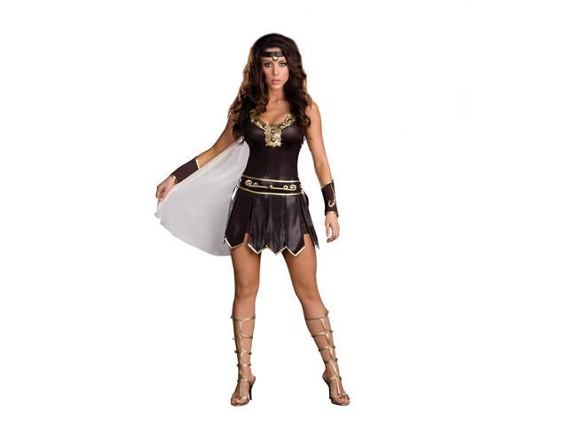 Sexy Viking Babe-A-Lonian Warrior Queen Adult Costume Large