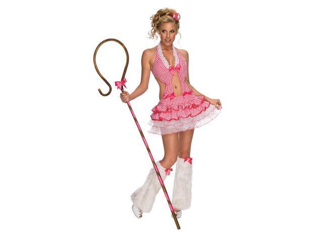 Sexy Shepherdess Playboy Little Bo Peep Dress Costume Adult Small