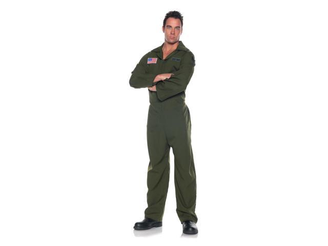 Air Force Jumpsuit Costume Adult One Size Fits Most