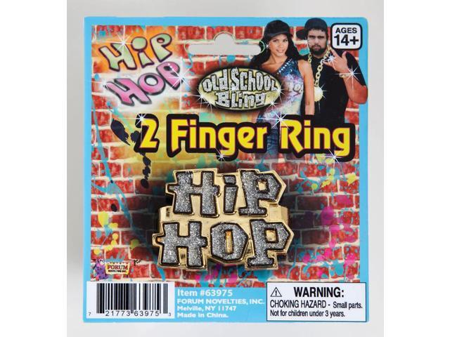 Hip Hop Finger Costume Ring Accessory